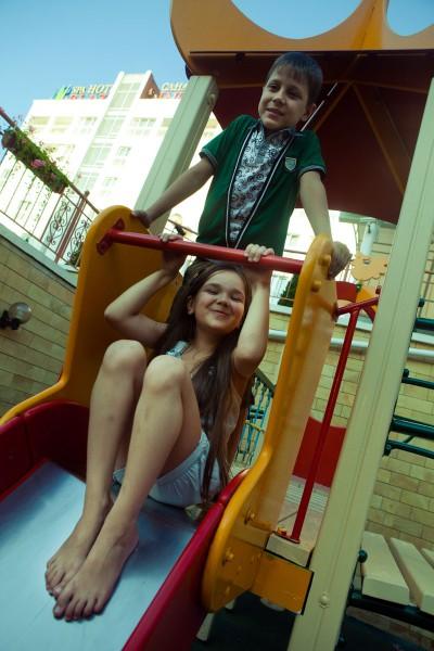 Развлечения для детей в санатории «Плаза»